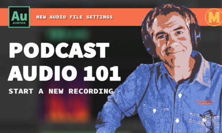 Tutorial: How To Start A New Recording in Audition